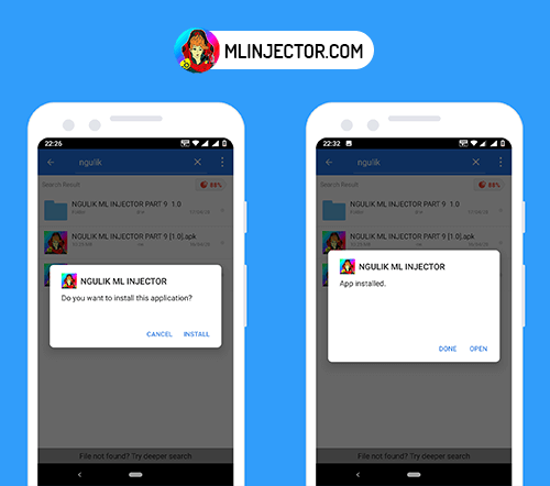 install-ml-injector-apk-on-android-device